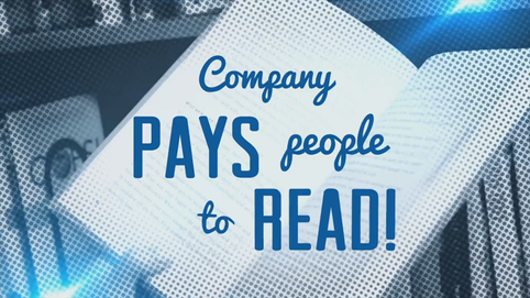 Company Pays People to Read