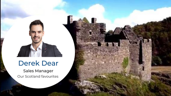 Scotland Favourites by Derek Dear, FIT Manager Abbey UK