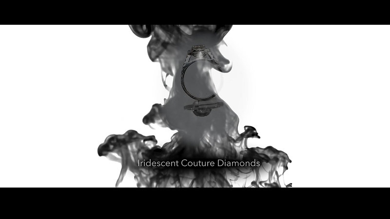 Iridescent Couture Diamonds