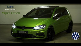 VW Golf R Final Edition Viper Green