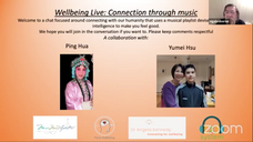 Wellbeing Live: Connection through Music Celebrate Chinese New Year with Ping Hua and Yumei Hsu