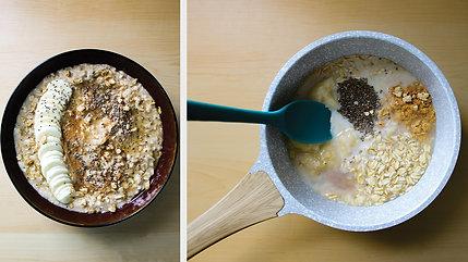Peanut Butter & Banana Porridge (Vegan | Gluten Free)
