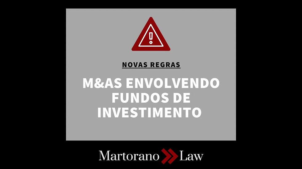 Cuidado redobrado em operações de M&A envolvendo Fundos de Investimento