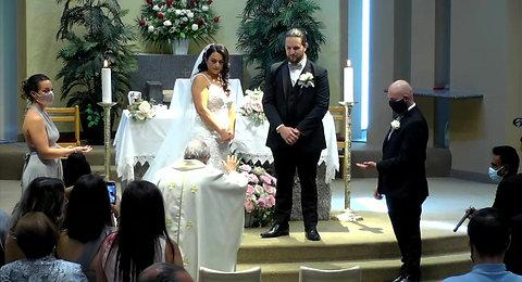 Christina Cicione & Marco Sili Wedding August 28, 2021
