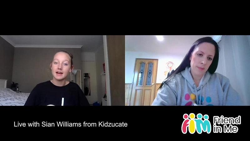 FIM Live Sian Williams Kidzucate