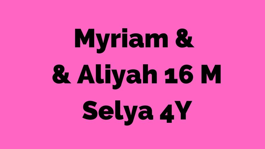 Myriam - Aliyah 16M - Selya 4A