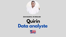 Quirin Moussoni - Data Analyst