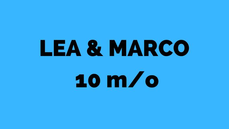 Léa & Marcot 10 mois 28-02-2020