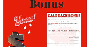 Cash Back Bonus