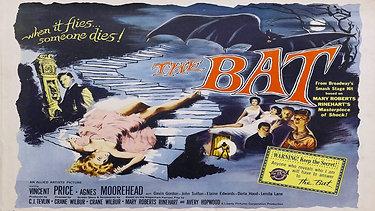 NAS GARRAS DO MORCEGO (The Bat, 1959 - USA) | Filme Completo / Legendado em Português
