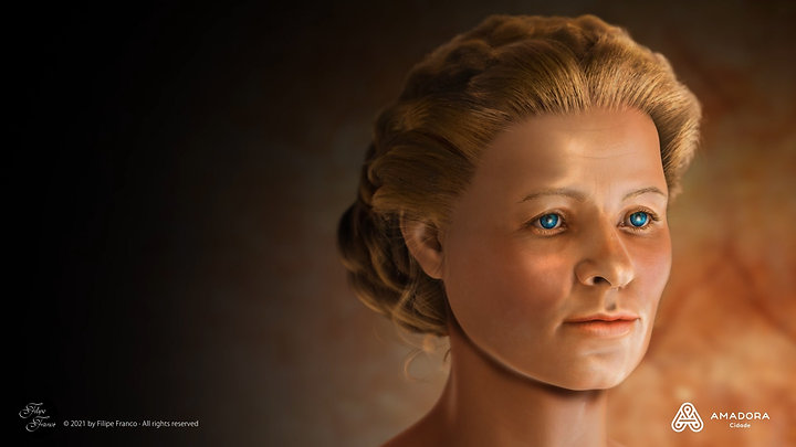Facial Approximation of The Roman Lady of Amadora