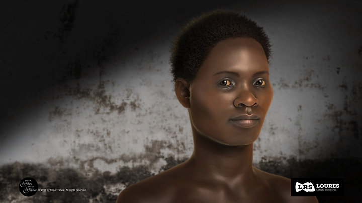 Facial Approximation of an African Young Adult