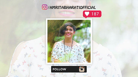 Follow Amrita Instagram