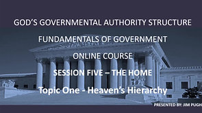 Session Five Topic One - Heaven's Hierarchy