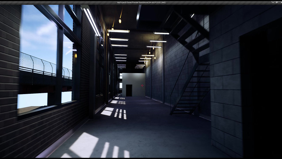 First Person for VR (Unreal Engine) Building