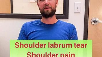 Shoulder Tear_Arm pain