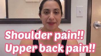Shoulder pain_Upper back pain