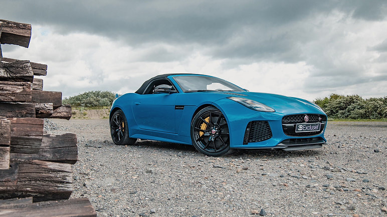 Jaguar F type SVR
