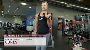 28. Standing Dumbbell Curls v2