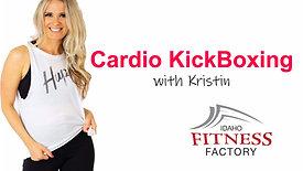 Cardio Kickboxing with Kristin