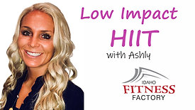 Low Impact HIIT with Ashly