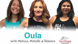 Oula with Rebecca,Melissa & Michelle