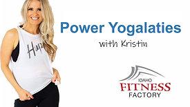 Power Yogalaties with Kristin