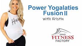 Yogalaties Fusion II with Kristin