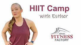 HIIT with Esther