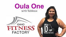 Oula One with Rebecca