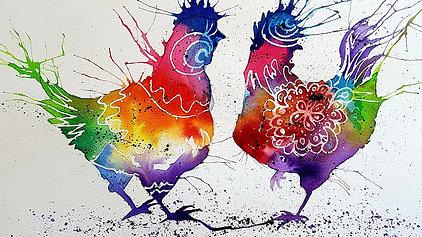 Crazy Chickens