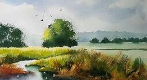 Canal Watercolour