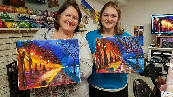 Ladies Paint Night 2018