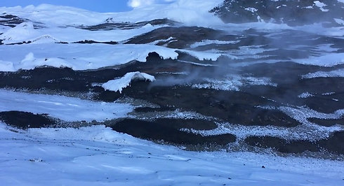 Mt. Rittman fumarole field