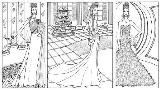 The Pageant Coloring Book