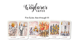Wayfarer Tarot Introduction Class - Fire Ace to VI