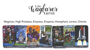 Wayfarer Introduction Class - Magician, High Priestess, Empress, Emperor, Hierophant, Lovers, Chariot
