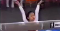 1981 International Mixed Pairs- Jiang Wei CHN BB  Full twisting double back dismount. Wei Jiang in 1981, the owner of @msjsgym (established in 2005 and located in Williamsburg, Brooklyn)