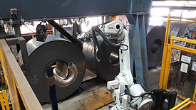 Robotic Metal Strap Removal System - De-Bander Project