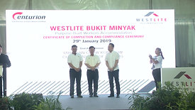Video 29 JAN 2019 WESTLITE CERTIFICATE & COMPLETION AND COMPLIANCE CEREMONY 3
