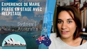 🇭🇲️ Interview de Marie | stage àSydney | avis Helpstage