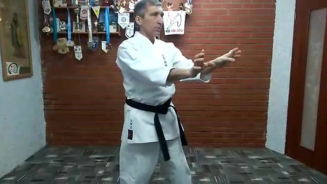Тренировка № 2 КАРАТЭ-ДО УЭЧИ-РЮ