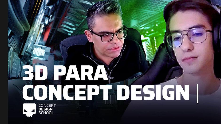 El rol del 3D en el Concept Design