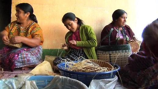 Weavers in Guatemala