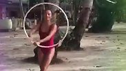 Hooping at Lio Beach
