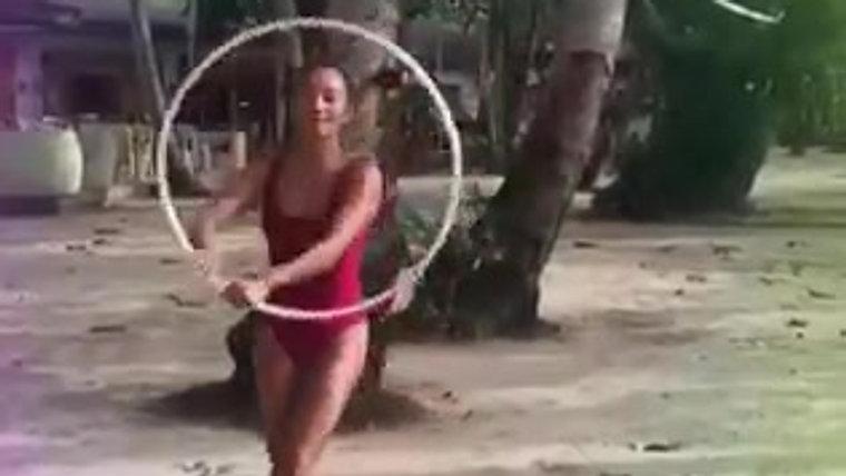 Hooping at Lio Beach