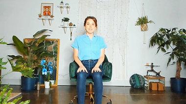 Desk Yoga: 13 min Neck, Shoulders & Arms Stretch
