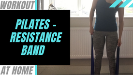 Pilates with a Resistance Band