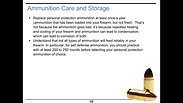 Lesson Two - Ammunition Knowledge