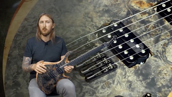 Skervesen Guitars Swan 6 Metal Demo by Ola Englund​